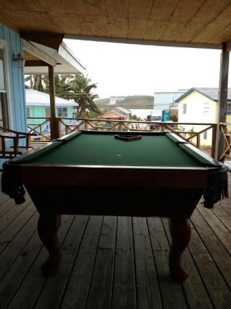Exuma Yacht Club: il tavolo da biliardo