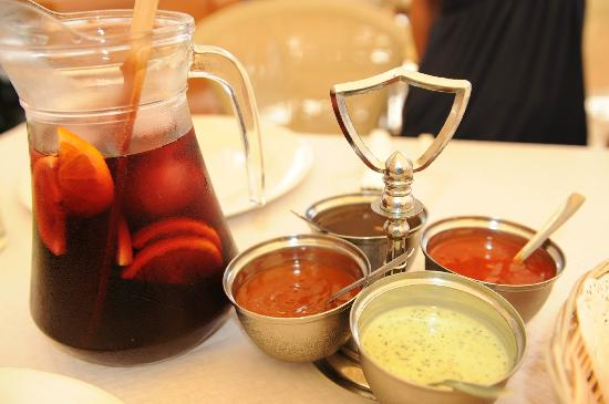 Indian Restaurant Shanti: Shanti Sauces and Sangria