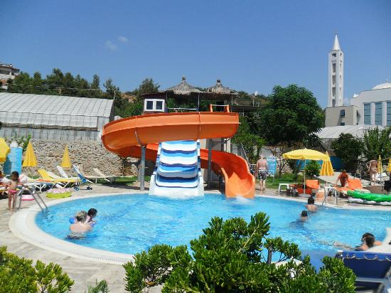 Alaiye Resort & Spa Hotel: the slides at alaiye park
