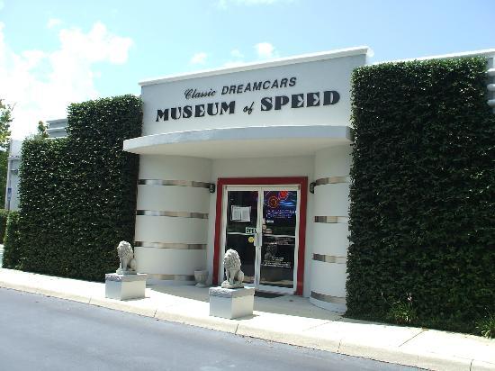 Mount Dora Museum Of Speed: Mount Dora Musuem Entrance