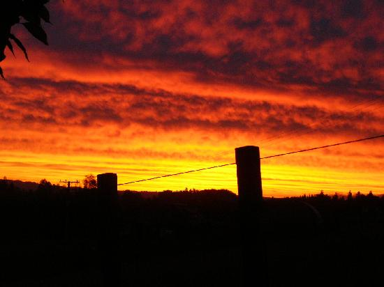 A Panoramic Country Homestay : SpectacularSunset