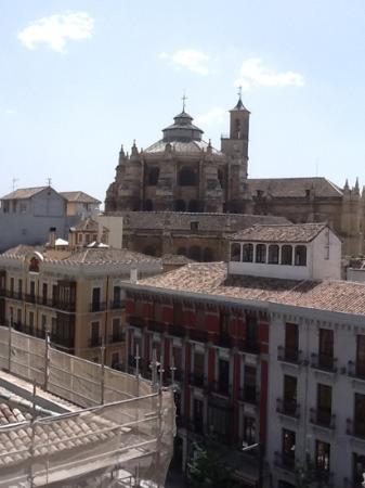 Eurostars Gran Via : вид на кафедральный собор