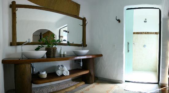 Vila de Sao Jorge, GO: Banheiro