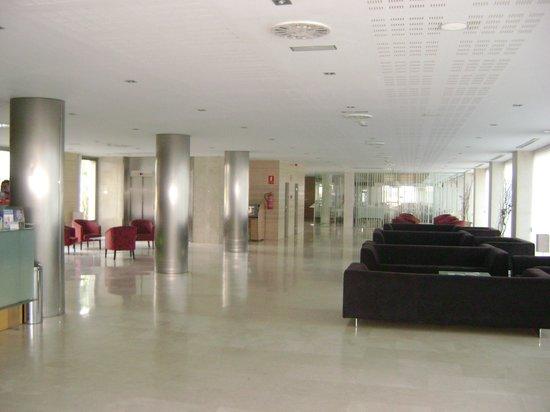 Daniya Alicante: Hall de recepción