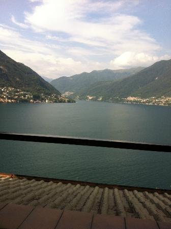 Hotel Ristorante G.L.A.V.J.C.: Blick vom Balkon