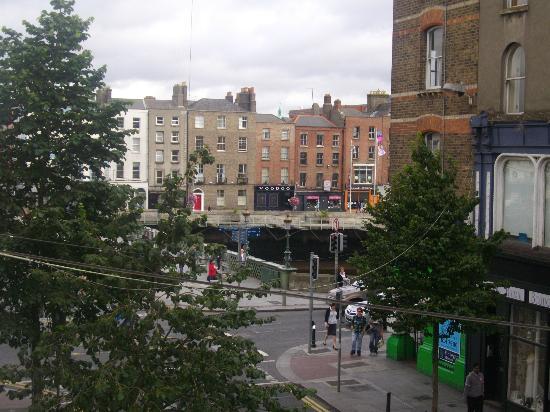 Bridge House Dublin: Vista desde la habitación