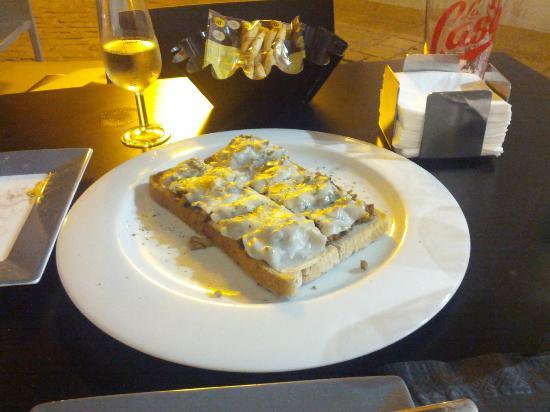 Reino de Leon: Tosta de champiñones (4,95€).