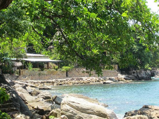 El Jardin Yelapa: Vista de El Jardín