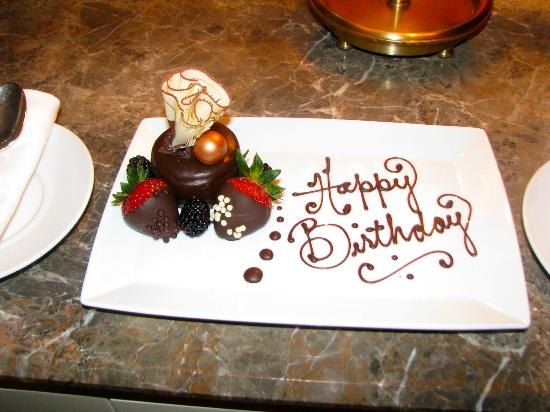 Four Seasons Hotel Boston: Birthday treats delivered