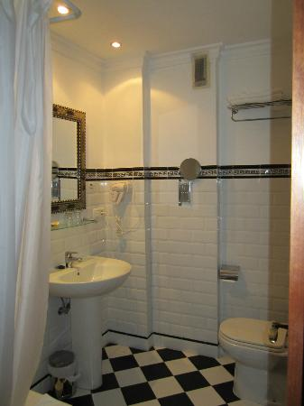 Central : bagno camera standard
