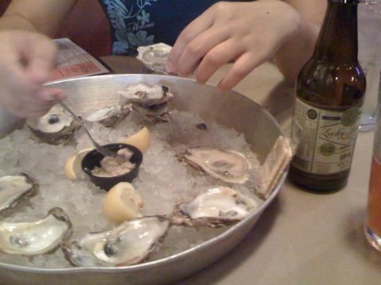 Shucks Oyster Bar: Oysters and LuckyBucket IPA