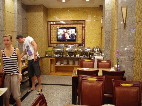 Roseland Inn Hotel: 朝食会場