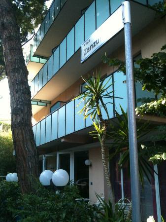 Delizia Hotel : esterno hotel delizia Rimini