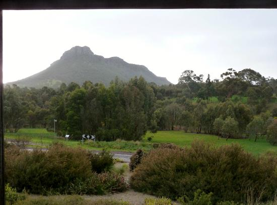 Royal Mail Hotel: View of Mt. Sturgeon from our room