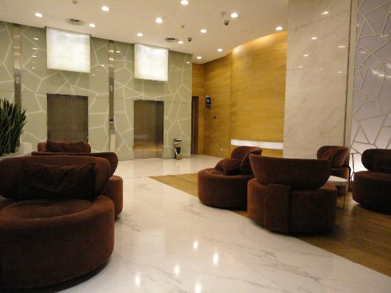 Holiday Inn Express Chengdu Gulou: Lobby