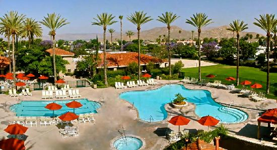 Hemet, CA: Resort Pool Area
