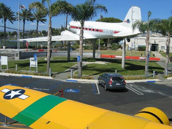 Museum of Flying: DC-3 Gate Guardian.