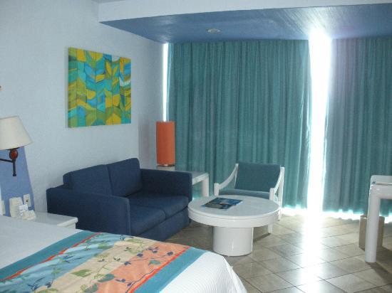 Hyatt Ziva Puerto Vallarta : Notre chambre avec vue sur la mer