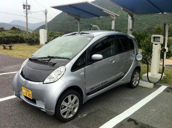 Fukuejima: EV急速充電機