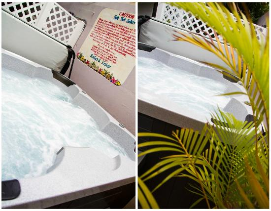 Coqui del Mar Guest House: Find time to relax in the Jacuzzi