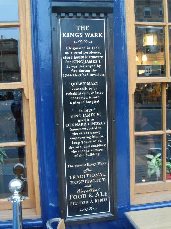 King's Wark: a little history