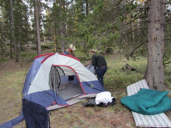 Klondike Ranch: Camping