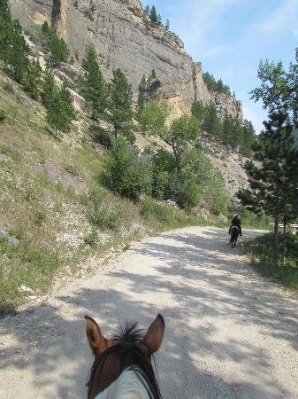 Klondike Ranch: Canyon ride