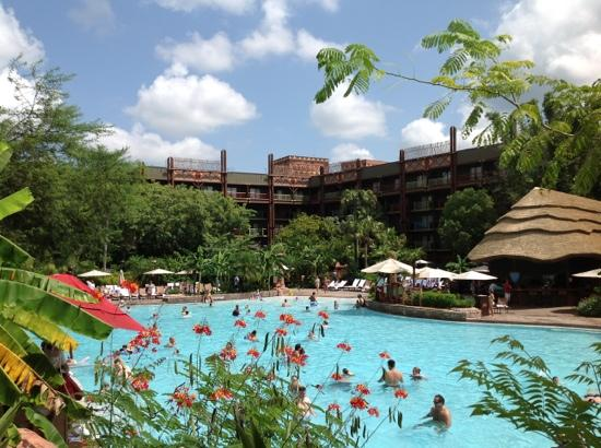Pool Picture Of Disney S Animal Kingdom Lodge Orlando