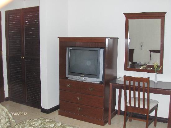 Hotel Rincon del Llano: Parte del equipo de las habitaciones.