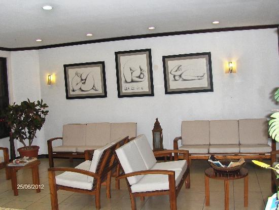 Hotel Rincon del Llano: Lobby, tranquilo, cómodo y agradable