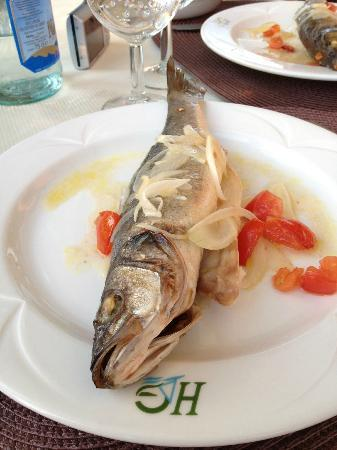 Hotel da Giacomino: Compliments to the chef