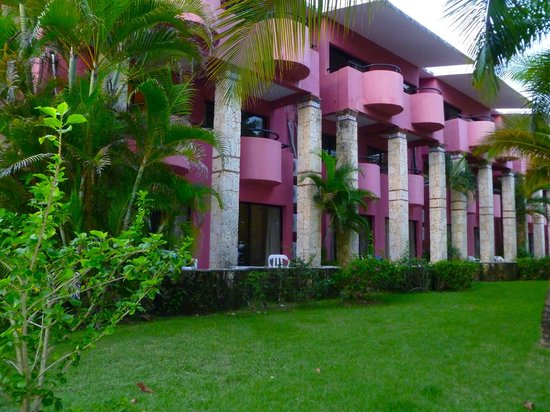 Talanquera Beach Resort: the building we stayed in