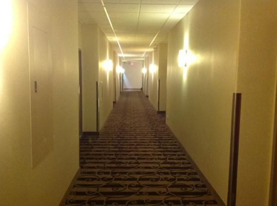 Best Western Plus Pembina Inn & Suites : hallway to the pool