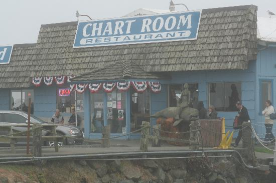 The Chart Room on a Slightly Foggy Evening - Picture of Chart Room ...