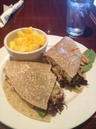 gluten-free coconut curry wrap - Picture of Ethos Vegan Kitchen ...