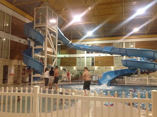 Victoria Inn Hotel & Convention Centre: its worth to get wet