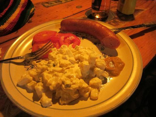 Manne's Biergarten: Bockwurst
