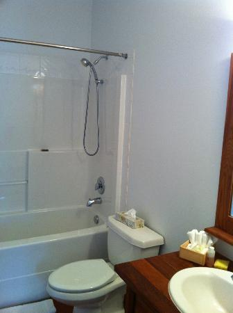 Water's Edge Shoreside Suites: The bathroom is nice!