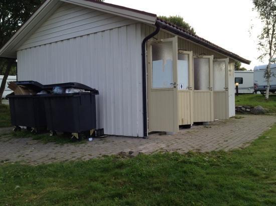 Atlanten Motel: Toilette und Duschen...