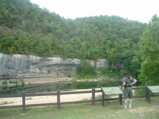 Buffalo National River Park: Swimming Hole at Buffalo Point