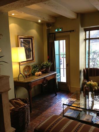 Henri IV Rive Gauche Hotel: Ingresso