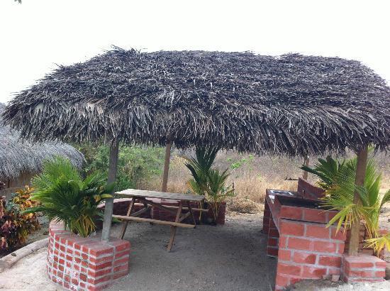 La Rica Ruca Eco-Lodge : BBQ Gill
