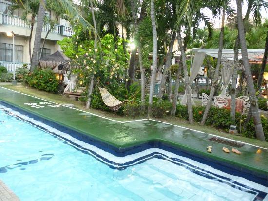 Hammock By The Pool Picture Of Lantaka Hotel By The Sea Zamboanga City Tripadvisor