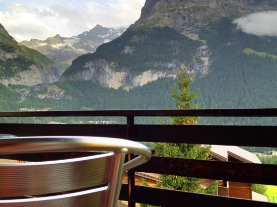 Hotel Tschuggen: view