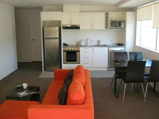 The Chatham Auckland : Kitchen and Living Room
