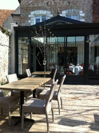 terrasse picture of le patio restaurant montreuil sur mer tripadvisor