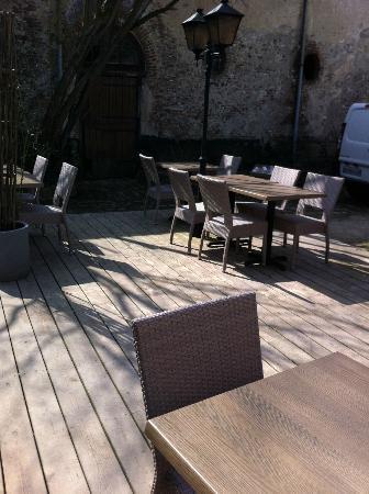 terrasse top photo de le patio restaurant montreuil sur mer tripadvisor