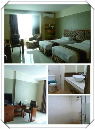 River Park Hotel: Room view and environment