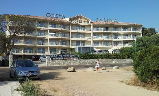 Hôtel Costa Salina : Voorzijde hotel