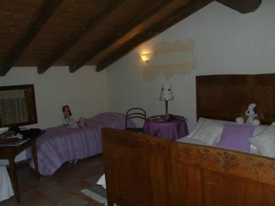 El Pendola: our room